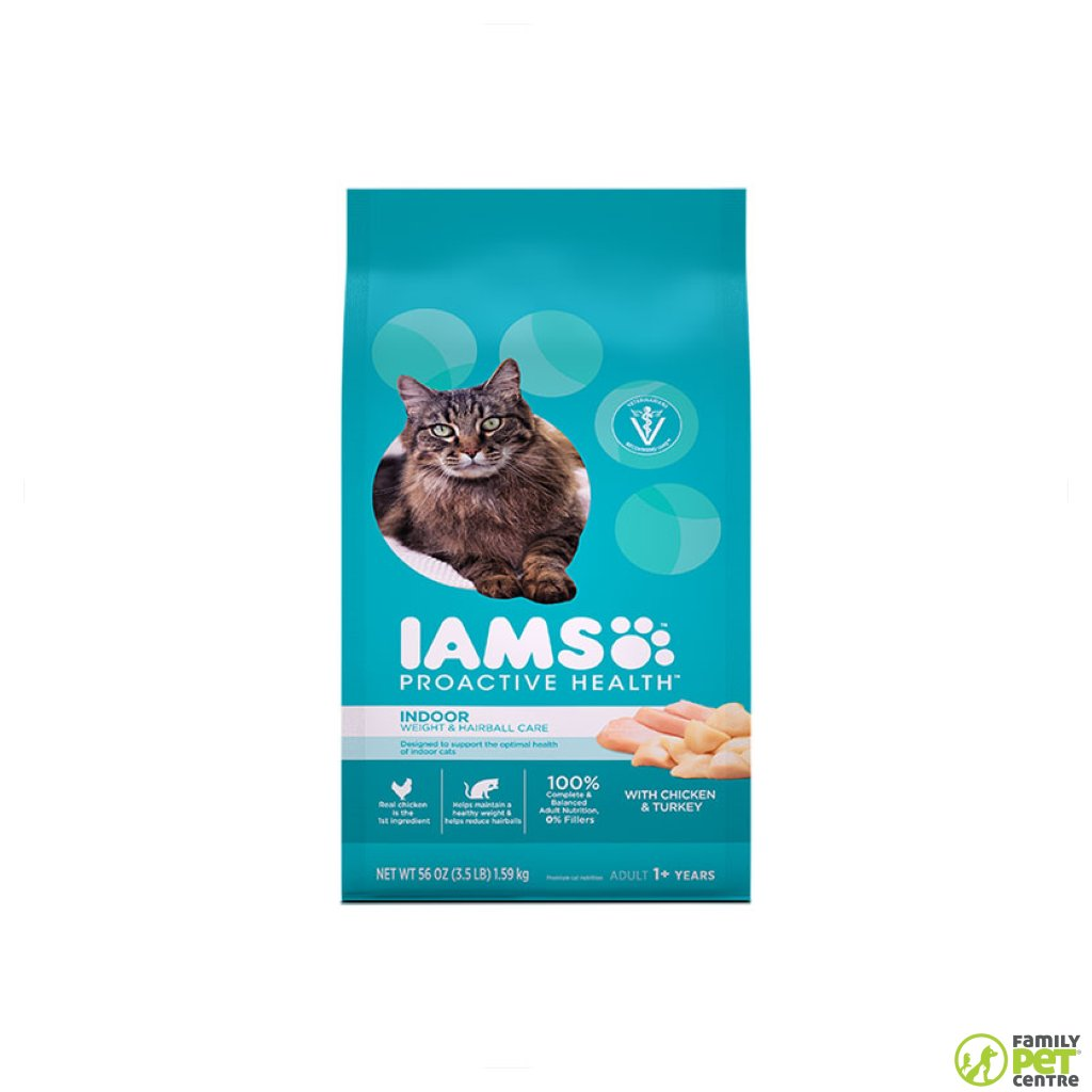 Iams Adult Cat Food Indoor Weight & Hairball