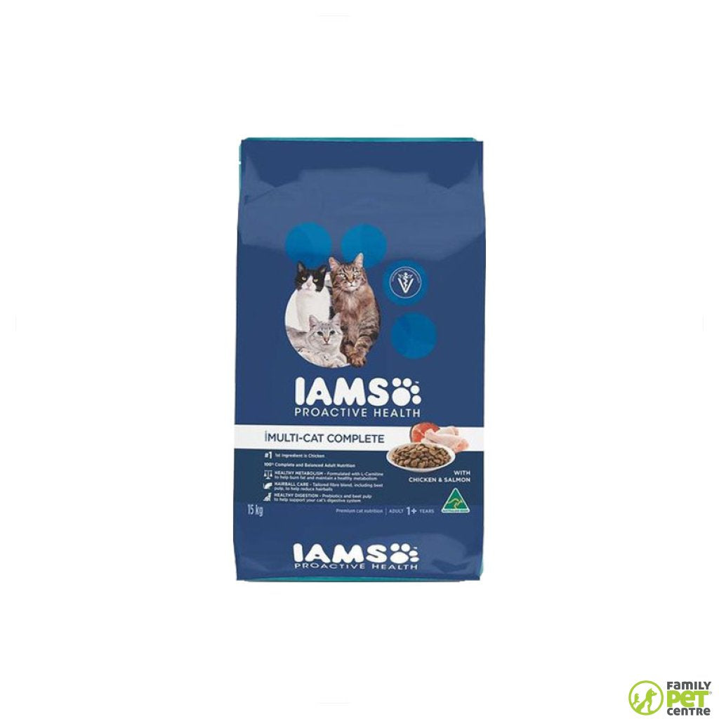 Iams Adult Cat Food Multi
