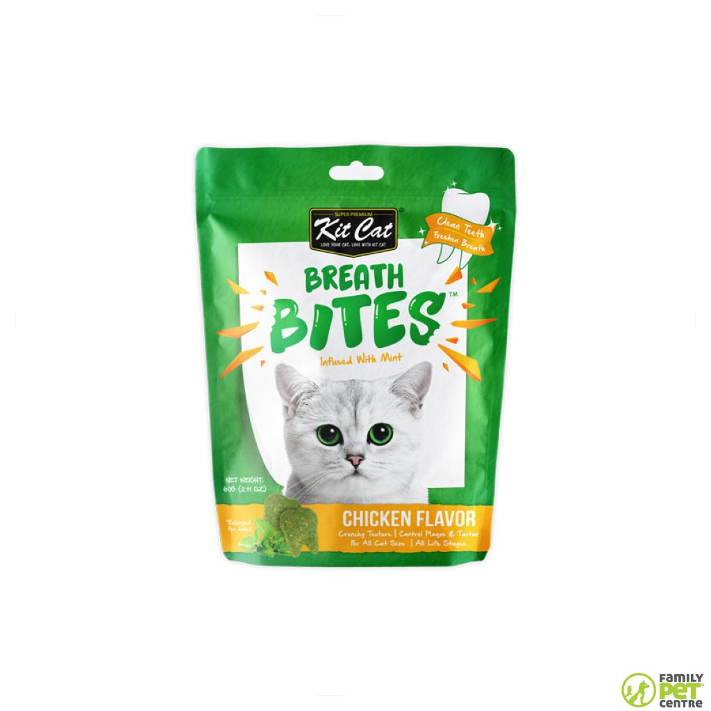 KitCat Breath Bites Cat Treats