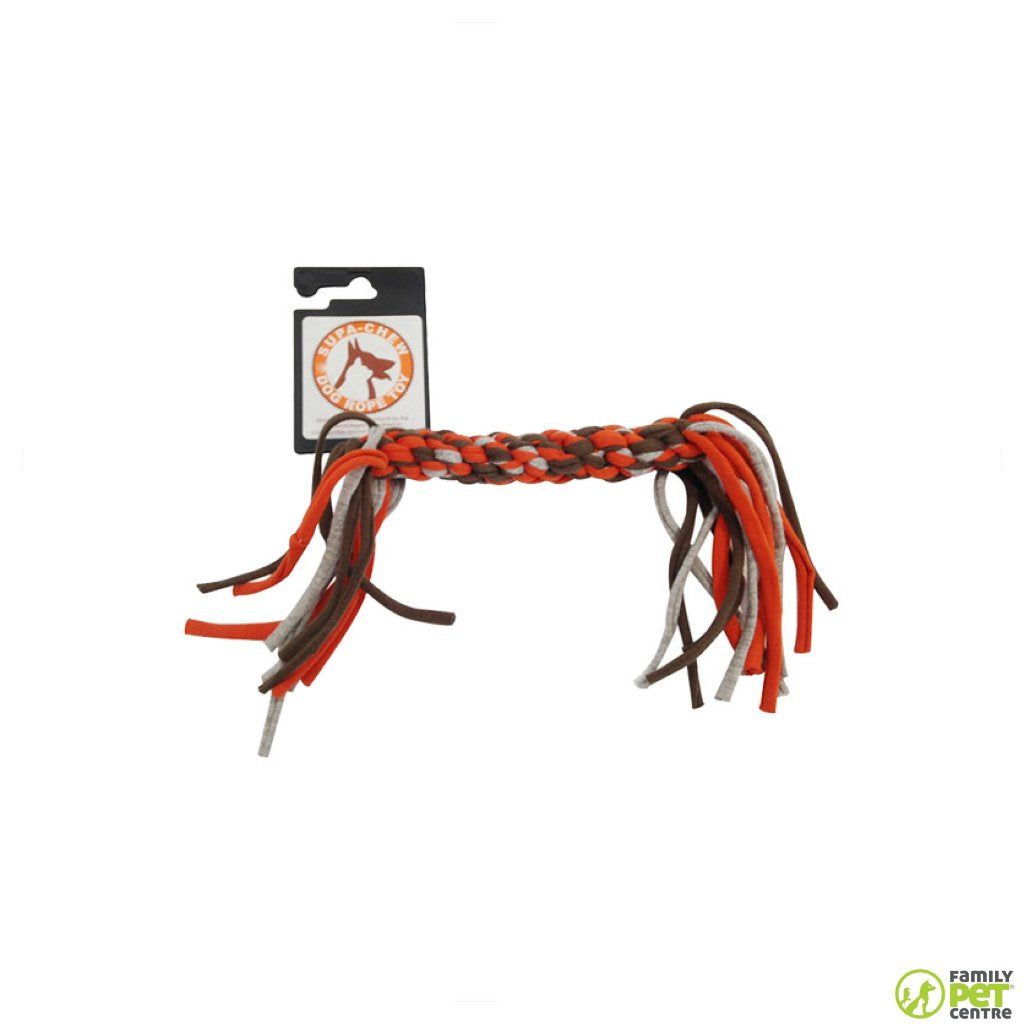 Supa Chew Cotton Rope Bone Dog Toy
