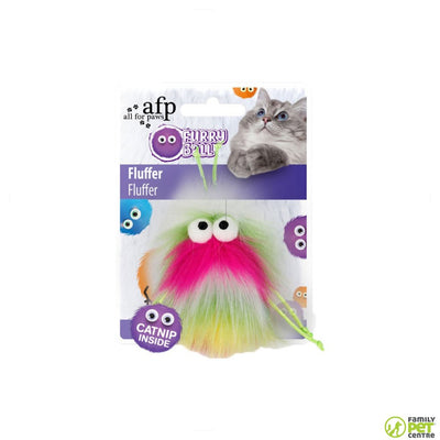 All For Paws Furry Ball Fluffer Toy