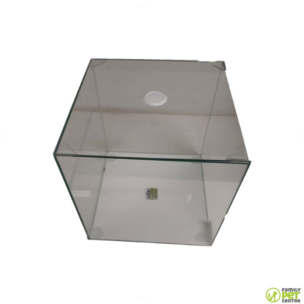 Reptile Resort Glass Terrarium Cube