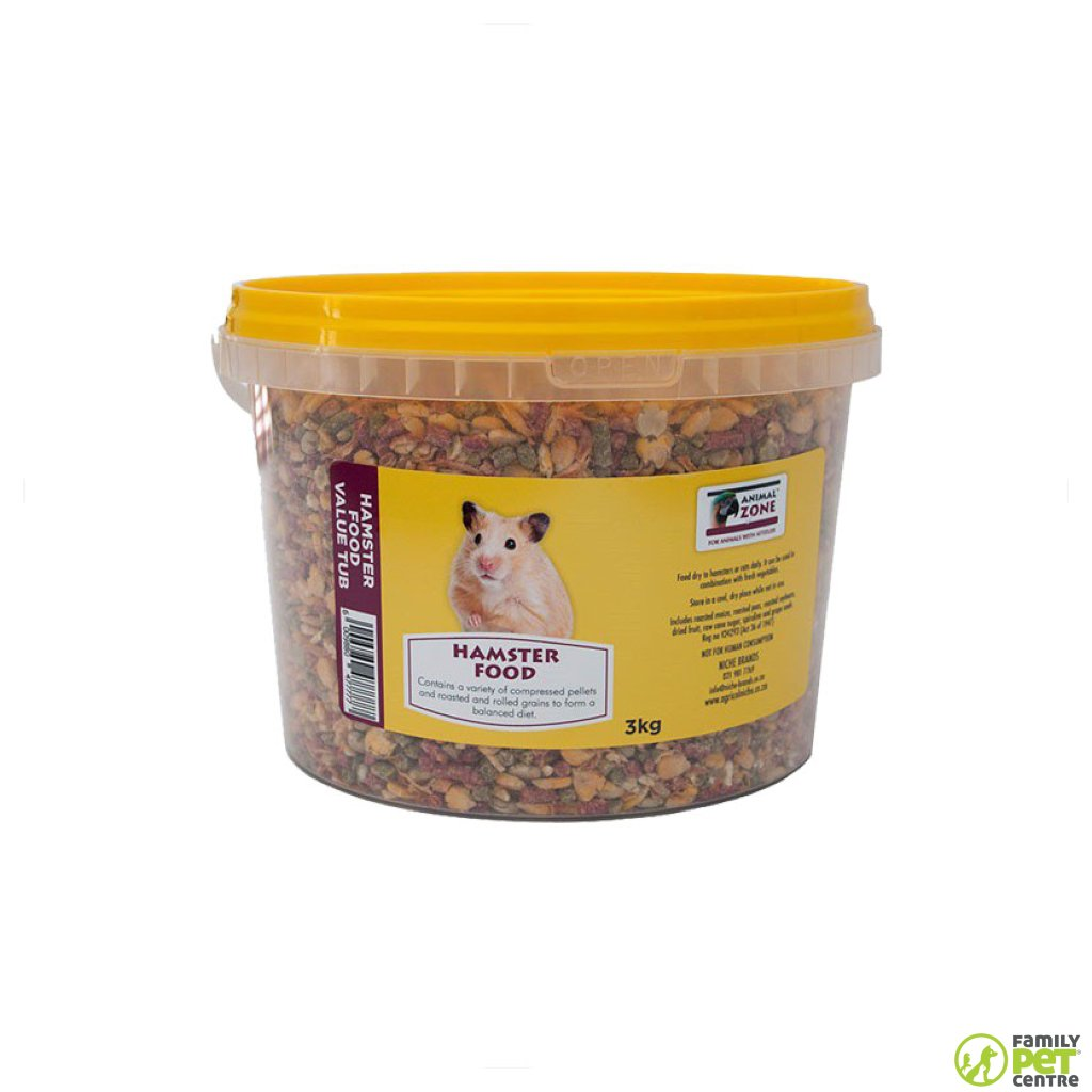 Animal Zone Hamster Food Value Tub