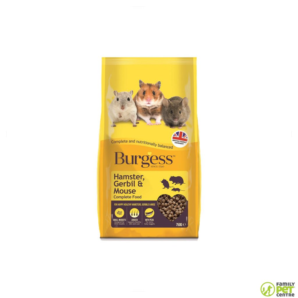 Burgess Hamster, Gerbil & Mouse Food
