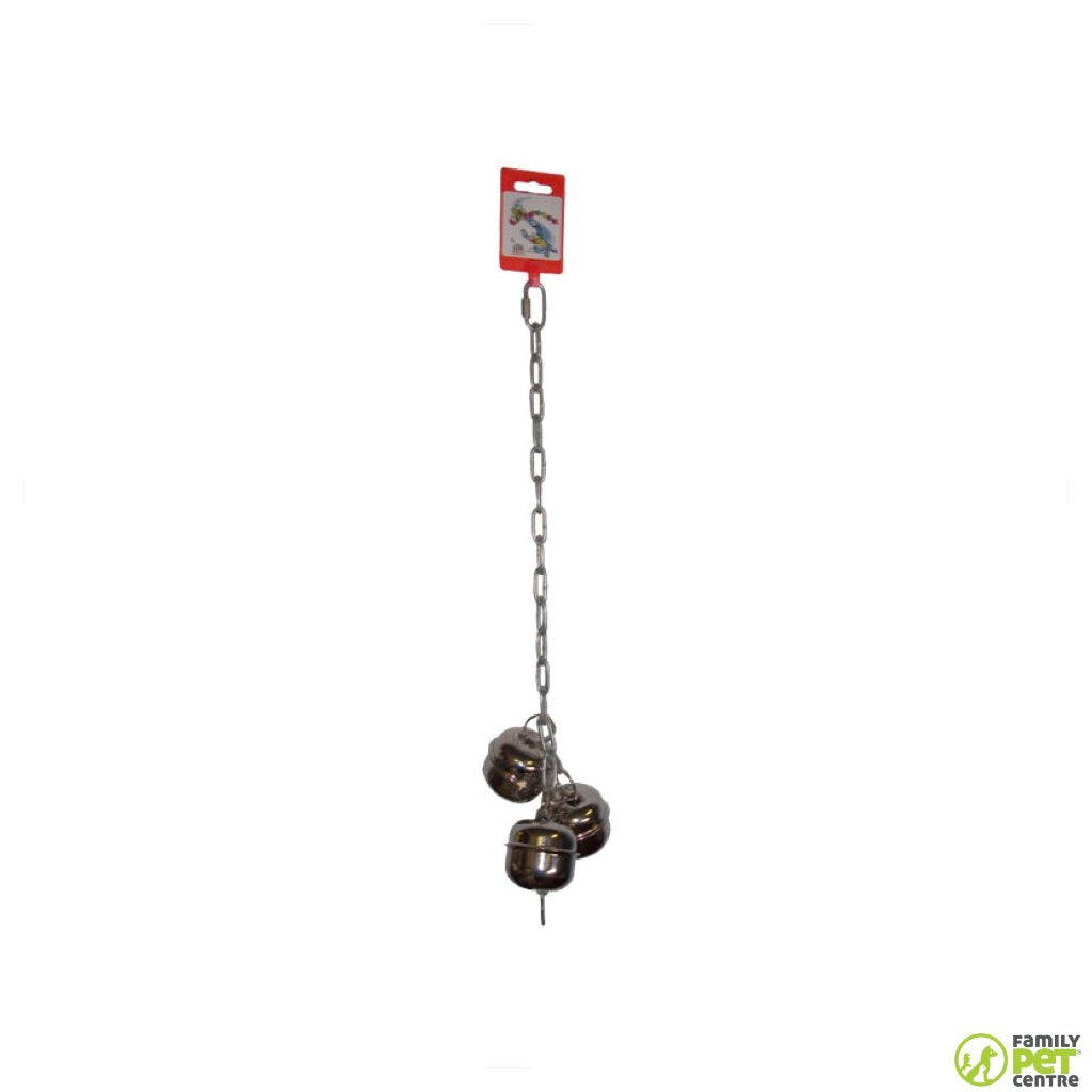Birrdeez Macaw Chain With Bell