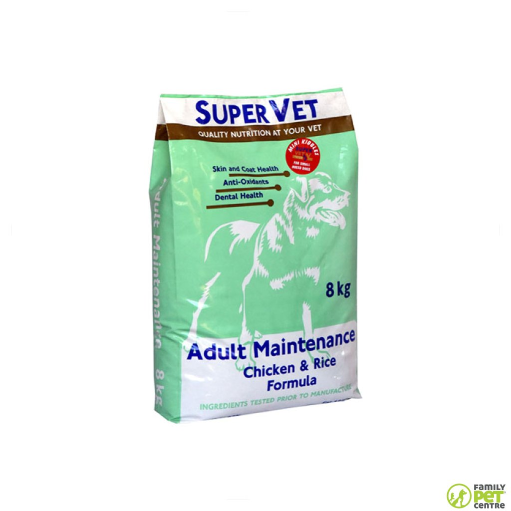 Supervet Maintenance Mini Kibble Adult Dog Food