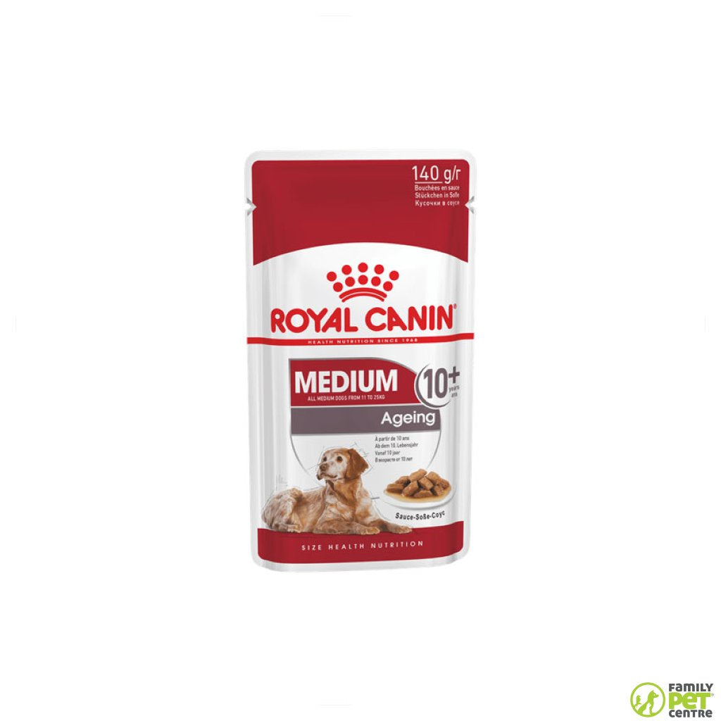 Royal Canin Medium Ageing 10+ Adult Dog Food Pouch