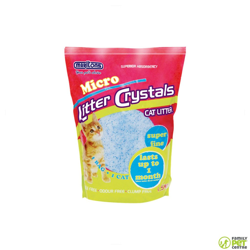 Marltons Micro Crystal Cat Litter
