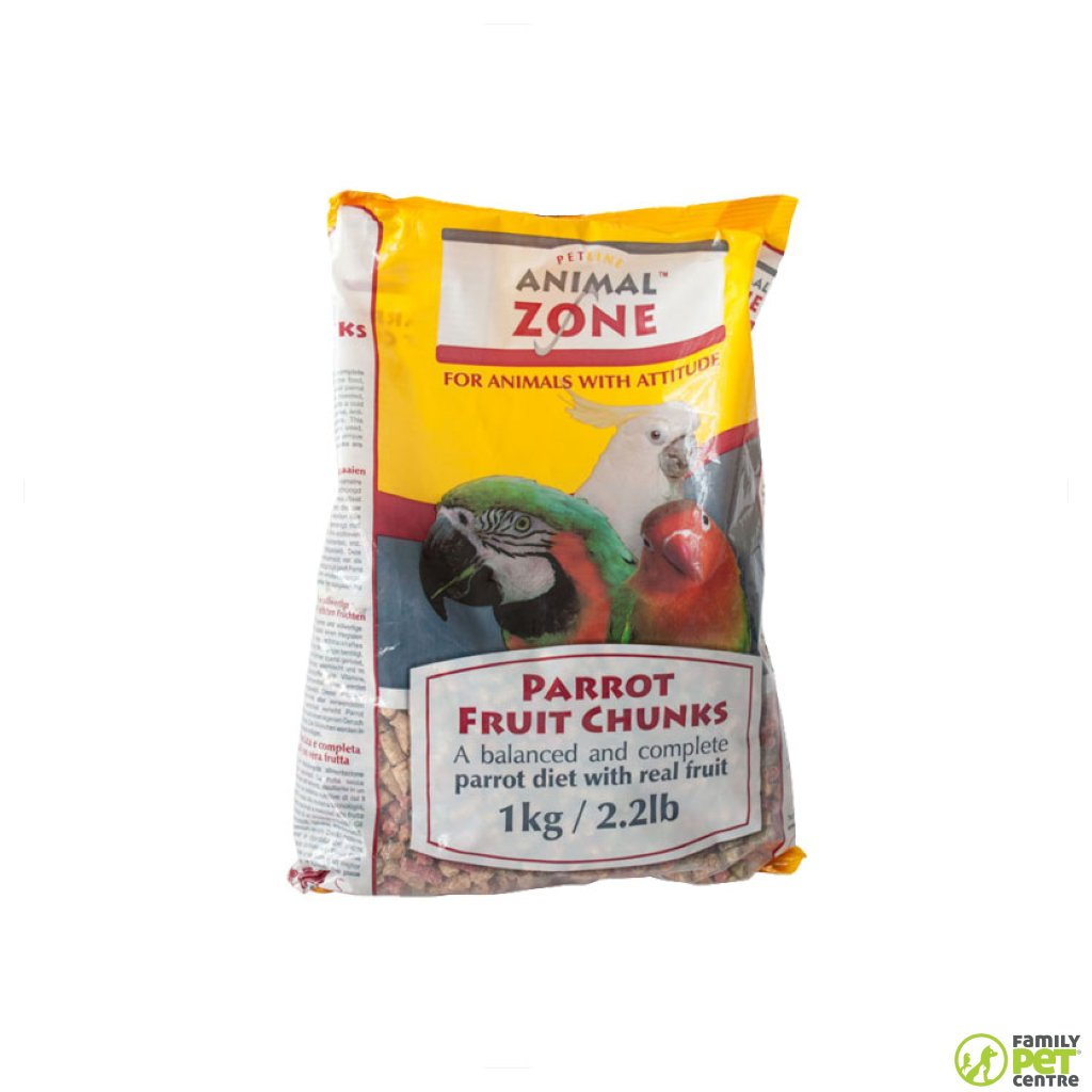 Animal Zone Parrot Fruit Chunks