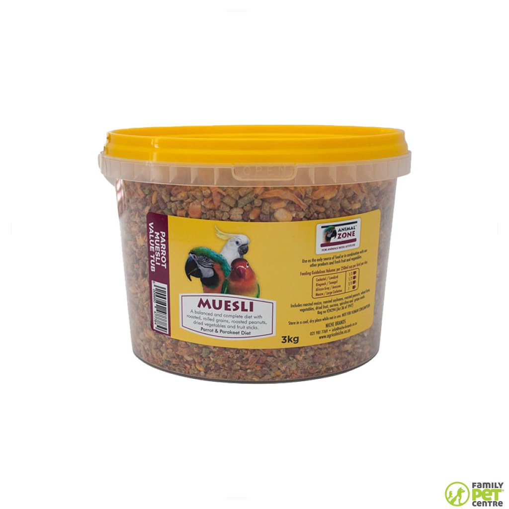 Animal Zone Parrot Muesli Value Tub