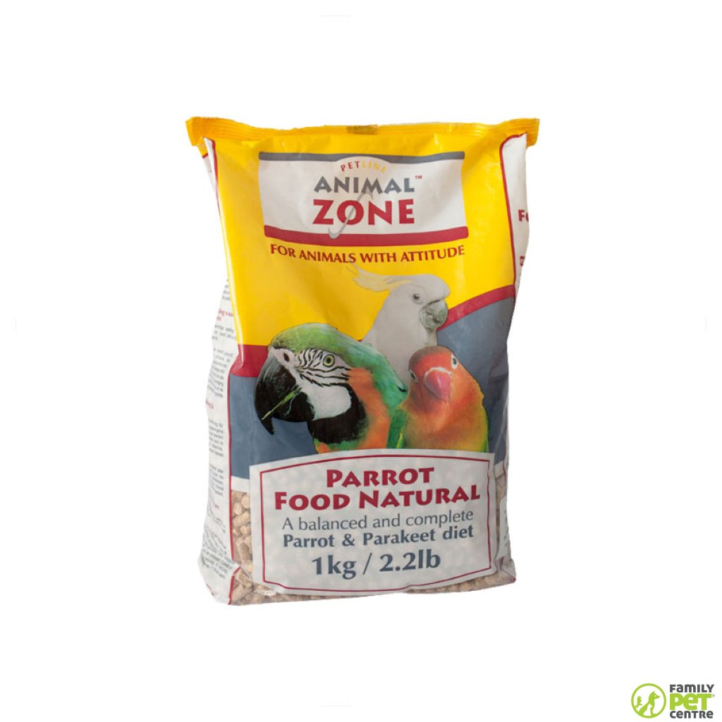 Animal Zone Parrot Natural Food