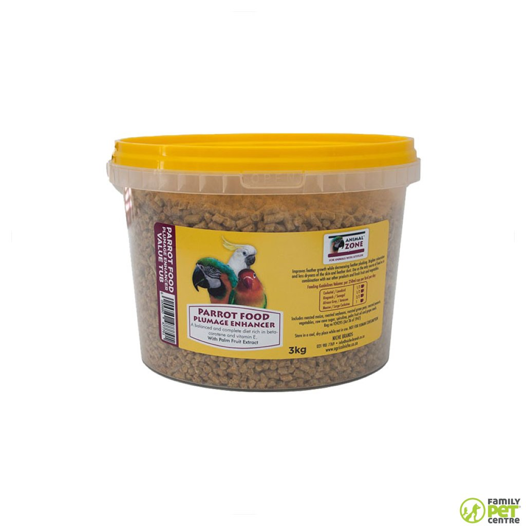 Animal Zone Parrot Plumage Enhancer Value Tub