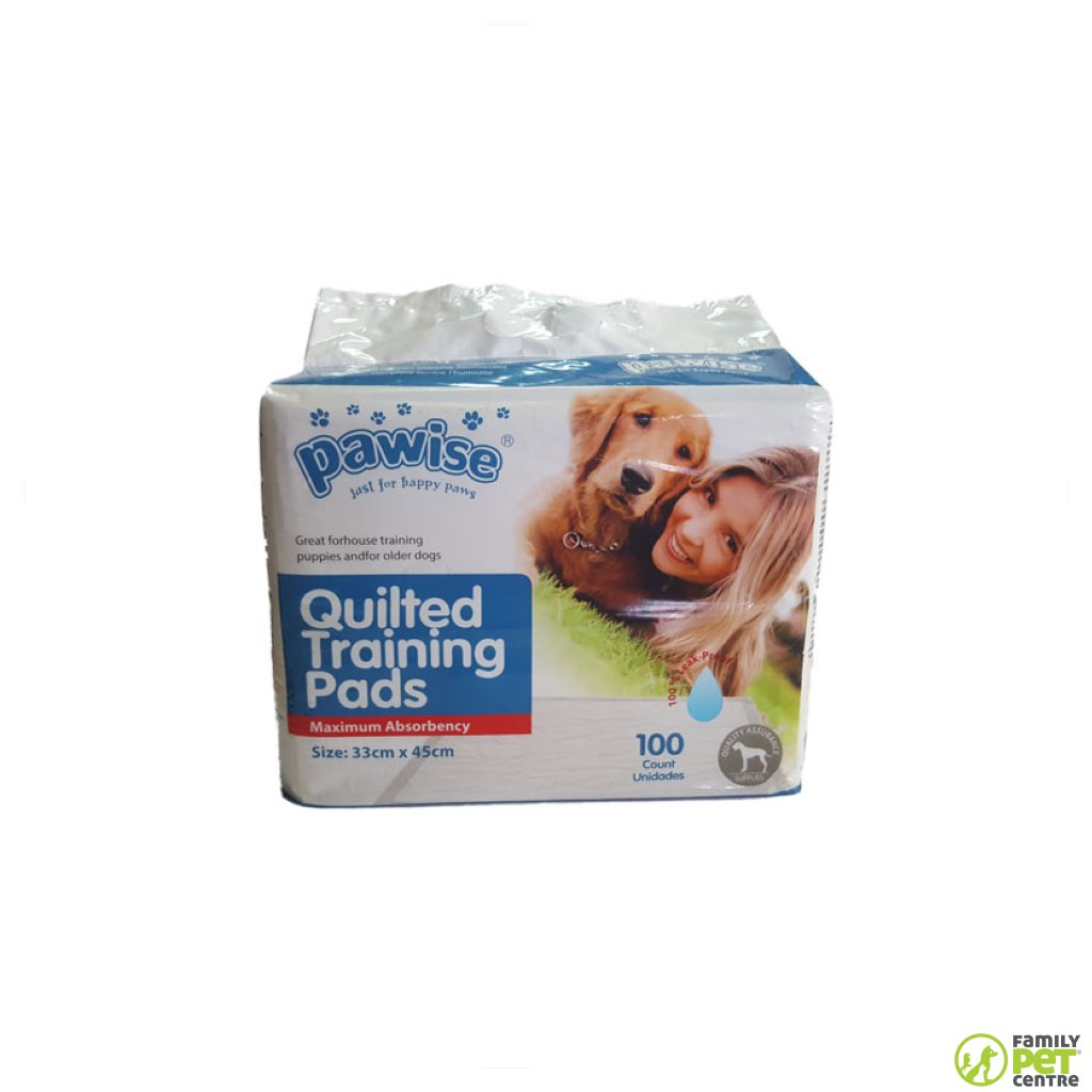 Pawise Quilted Puppy Training Pads