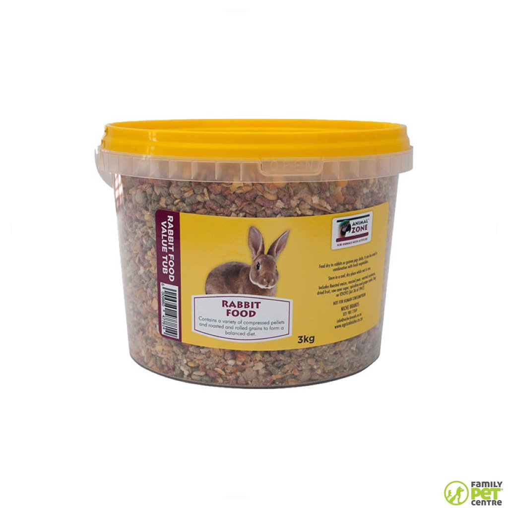 Animal Zone Rabbit Food Value Tub