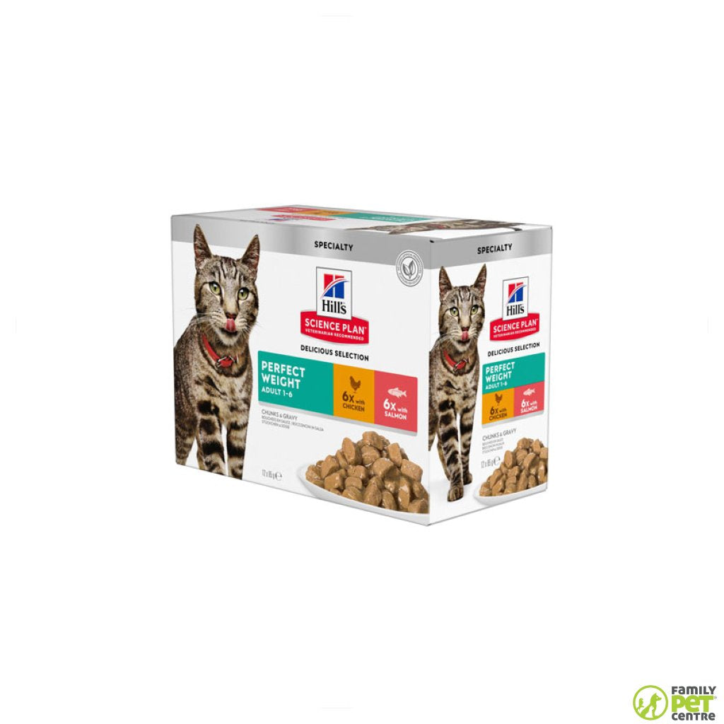 Hills Science Plan Adult Perfect Weight Wet Cat Food