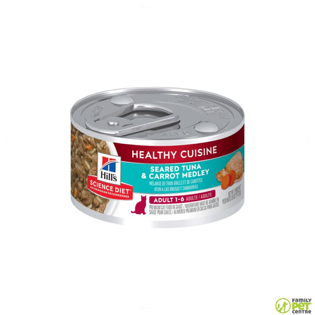 Hills Science Plan Adult Wet Cat Food Can