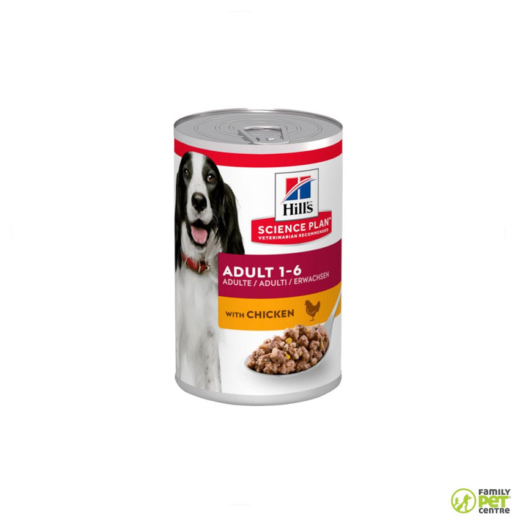 Hills Science Plan Adult Wet Dog Food Can