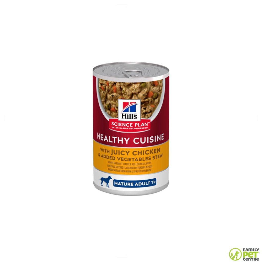 Hills Science Plan Mature Adult Healthy Cuisine Wet Dog Food Can