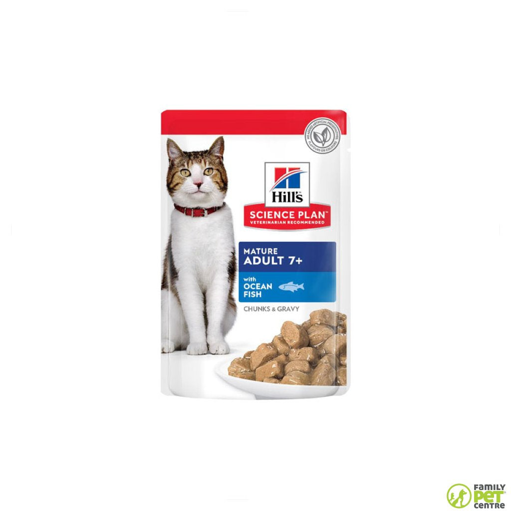 Hills Science Plan Mature Adult Wet Cat Food