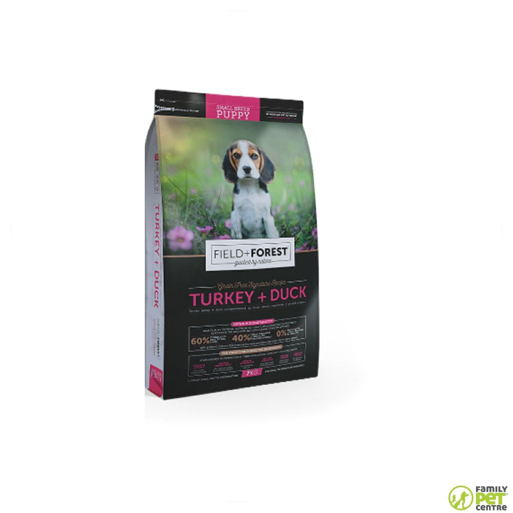 Field & Forest Small Puppy Food Turkey & Duck