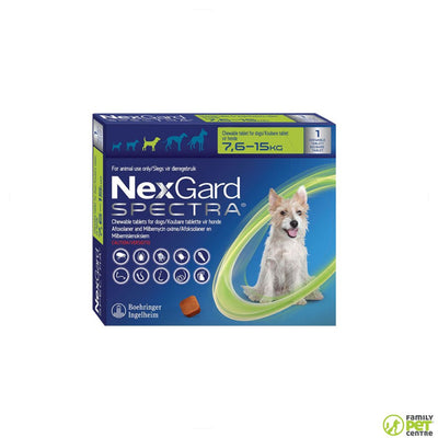 Nexgard Spectra Chewable Tick & Flea Tablets For Dogs Singles