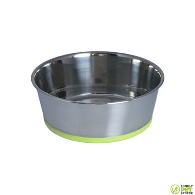 Rogz Stainless Steel Slurp Dog Bowl