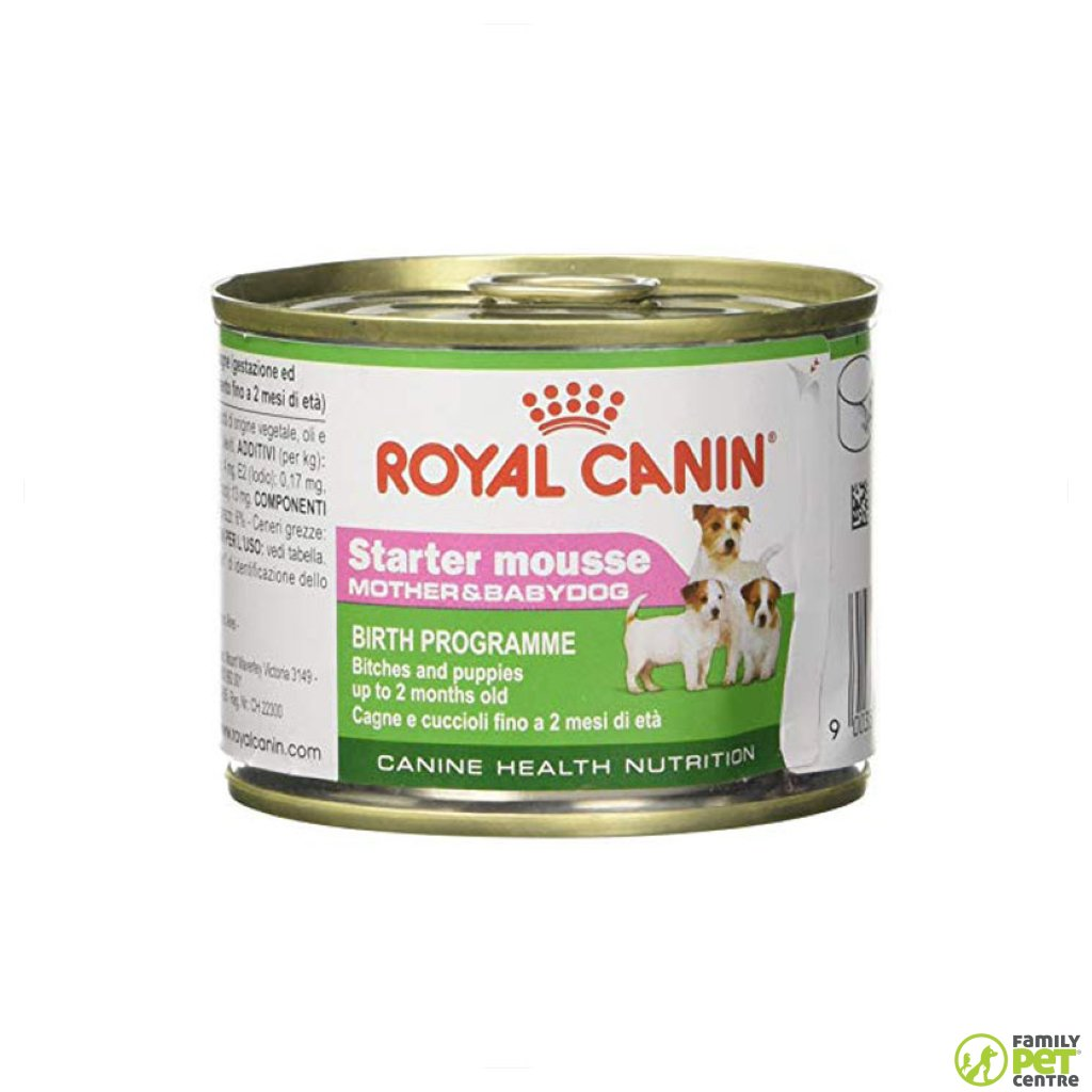 Royal Canin Starter Mousse Mother And Baby Dog Food
