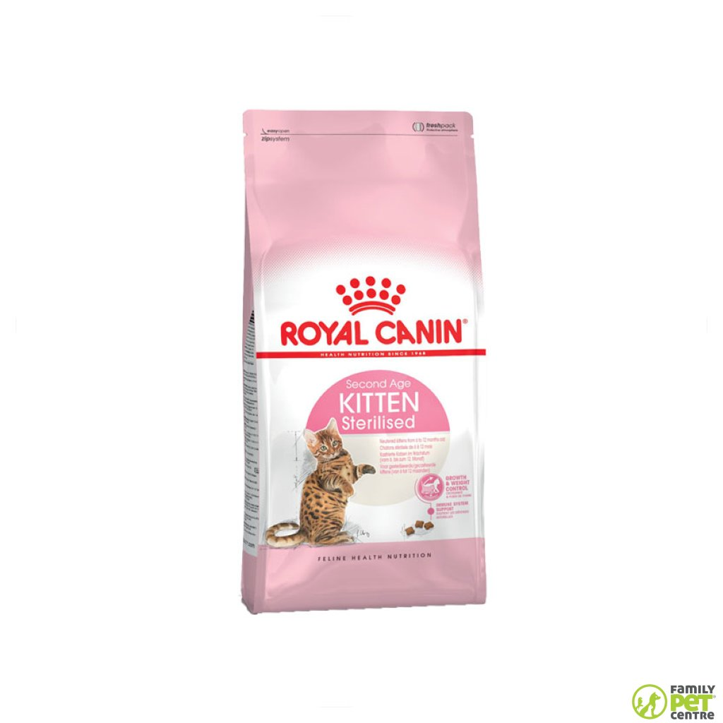 Royal Canin Sterilised 12 Month Kitten Food