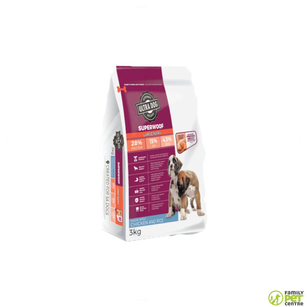 Ultra Dog Superwoof Large Puppy Dog Food