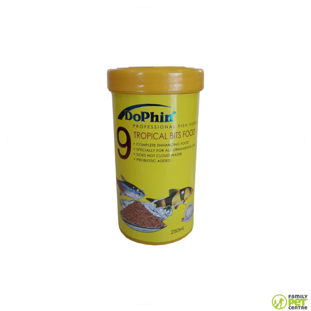 Dophin Tropical Fish Bits Food