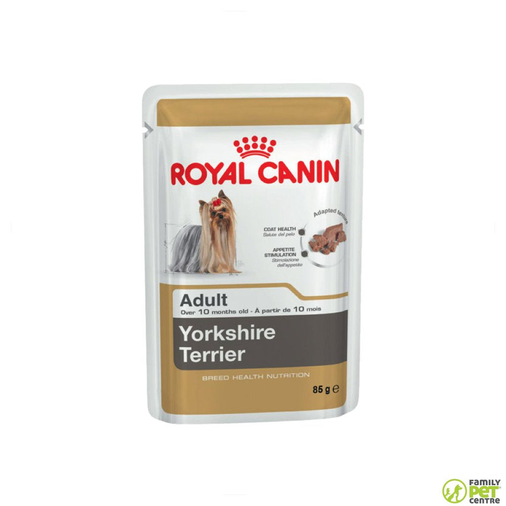 Royal Canin Yorkshire Terrier Adult Dog Food Pouch