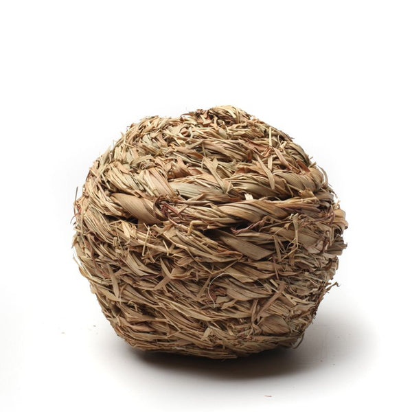 10cm Chew Ball made from Natural Grass