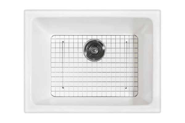 Undermount Fireclay Sink - Small 610 x 470 x 280mm