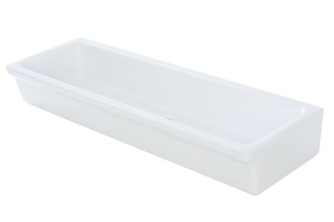 Fireclay Comercial Trough