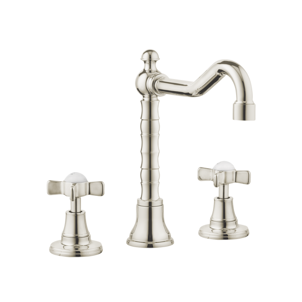 Traditional Kitchen Tap - English Spout - Metal Lever