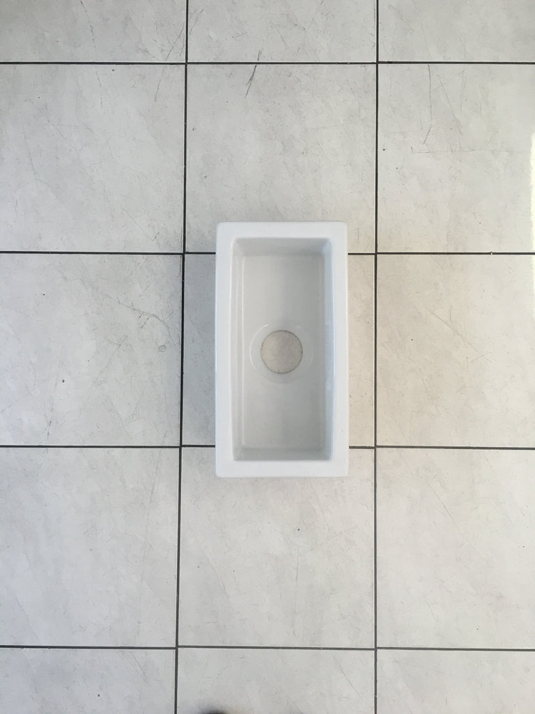 Fireclay Side Undermount Sink