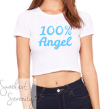 100% Angel Crop Top (2 Colors)