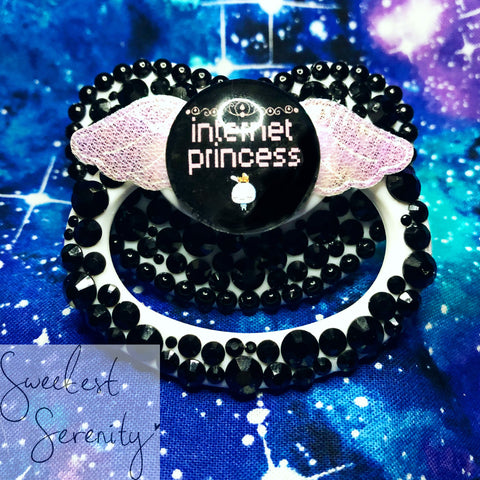 New! Internet Princess Pacifier