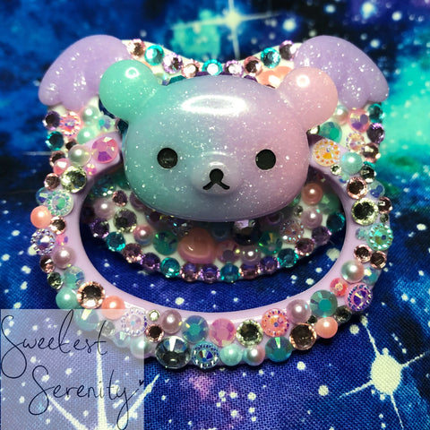 New! Pastel Bear Pacifier