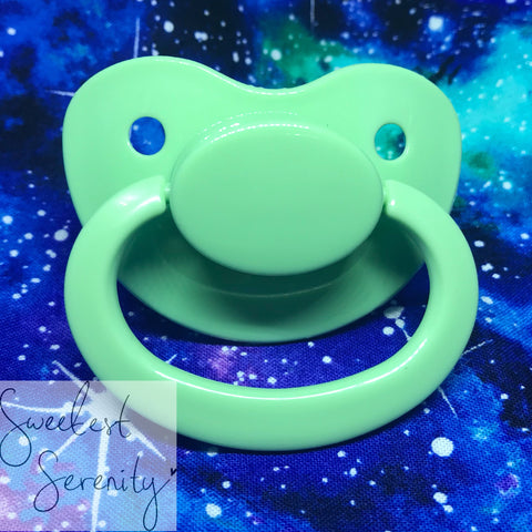 Mint Plain Pacifier