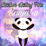 Custom Listing for Kaiya!