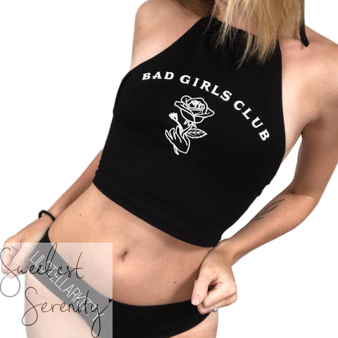 Bad Girls Club Halter Top (2 Colors)