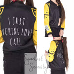 I Just Fvcking Love Cats Jacket