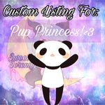 Custom Listing for Pup!