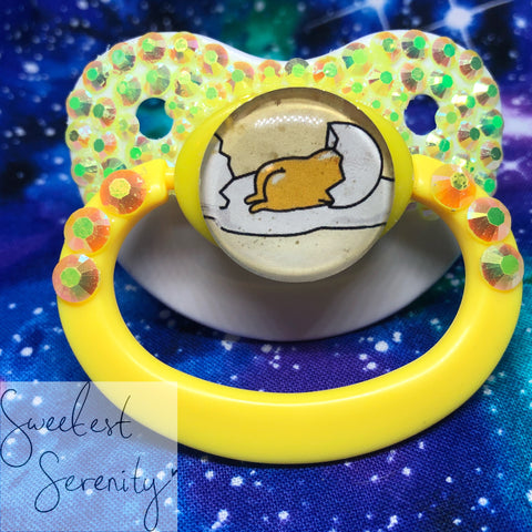 Egg Booty Pacifier