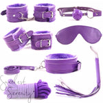 10pc Purple Bondage Set