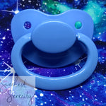 Blue Plain Pacifier