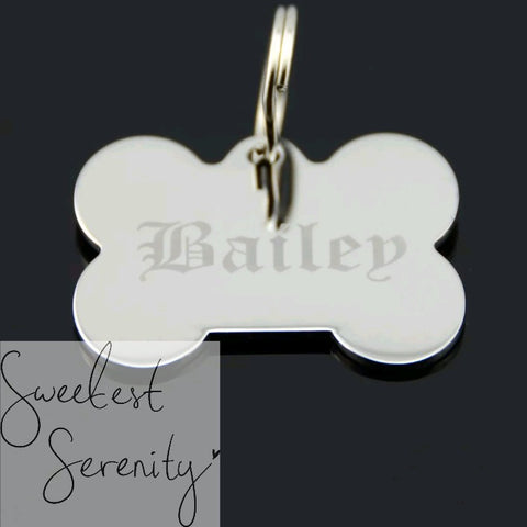 Stainless Steel Bone Tag