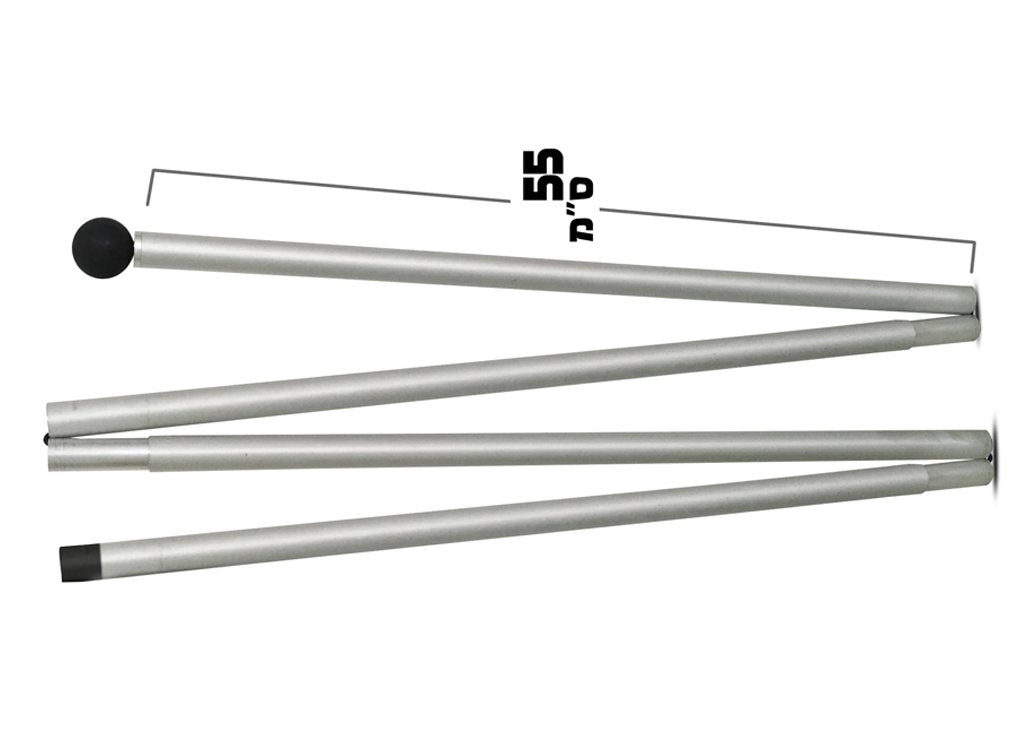 Additional Aluminum Pole for EXTRA LARGE SHADE (One Pole Only)