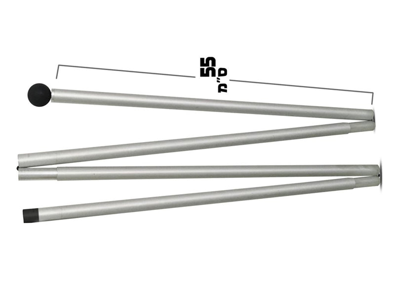 Addtional Aluminium Pole for Medium and Large Shades  (One Pole Only)